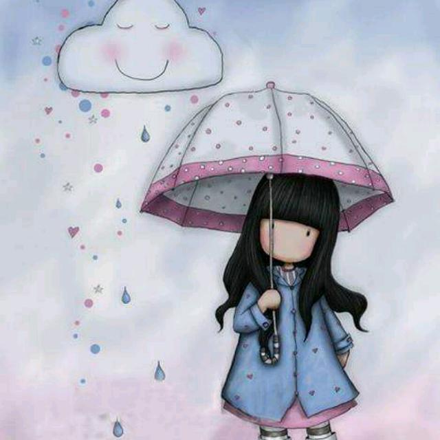 【天在下雨我在想你】